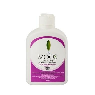 Moos Sulphur Enriched Anti Dandruff Shampoo 200ml Renksiz